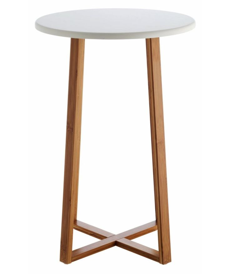 Buy Habitat Drew Tall Side Table - Bamboo at Argos.co.uk - Your Online Shop for Occasional and coffee tables.