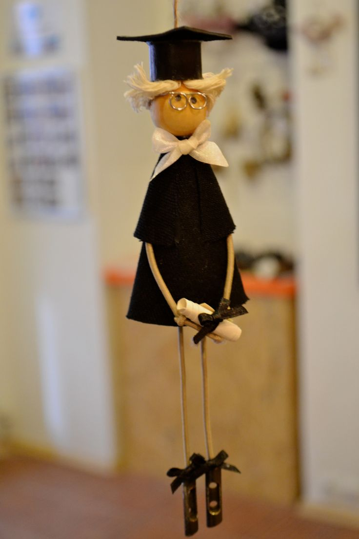 Graduated. Handmade doll