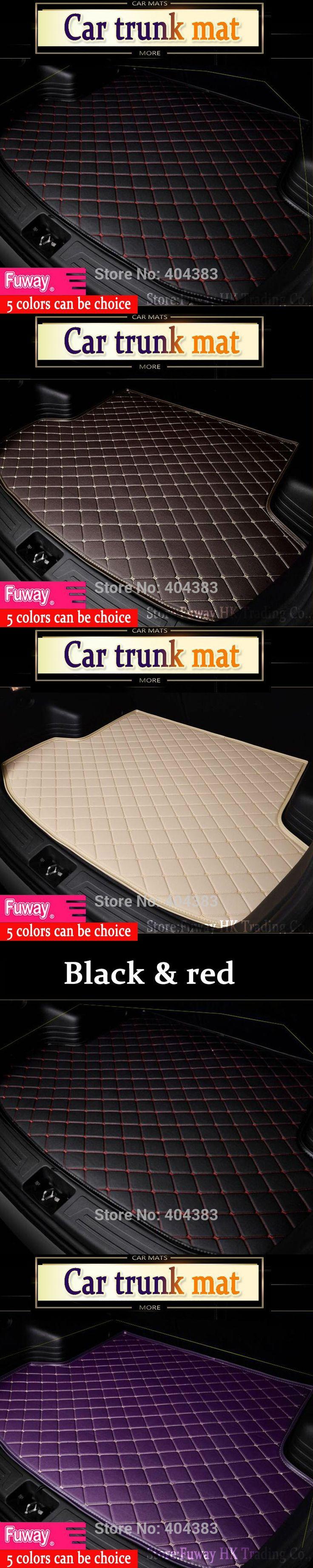 fit car trunk mat for Mercedes Benz B180 C200 E260 CL CLA G GLK300 ML S350/400 class car styling tray carpet cargo liner