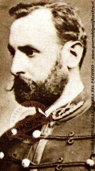 Teniente Coronel José Miguel Alcérreca Saldes, (1845-1891). 1865 Subteniente. En la Guerra del Pacífico estuvo presente en el bombardeo de Antofagasta por el monitor peruano Húascar. Combatió en Pisagua, San Francisco, Los Ángeles, Pajonales de Sama, Tacna (fue uno de los primeros en ocupar la ciudad), toma del Morro de Arica, Chorrillos, Miraflores y tomó parte en la Campaña de la Sierra en el interior del Perú. En 1887 fue ascendido a Coronel Efectivo.