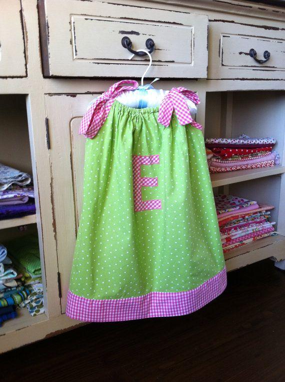 Toddler Sewing Pattern  Pillowcase Dress  Baby by EllaFullOfGrace, $7.95