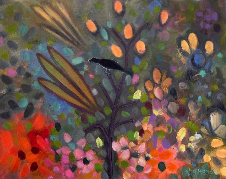 Raven Speaks #3                   by Virginia Maria Romero