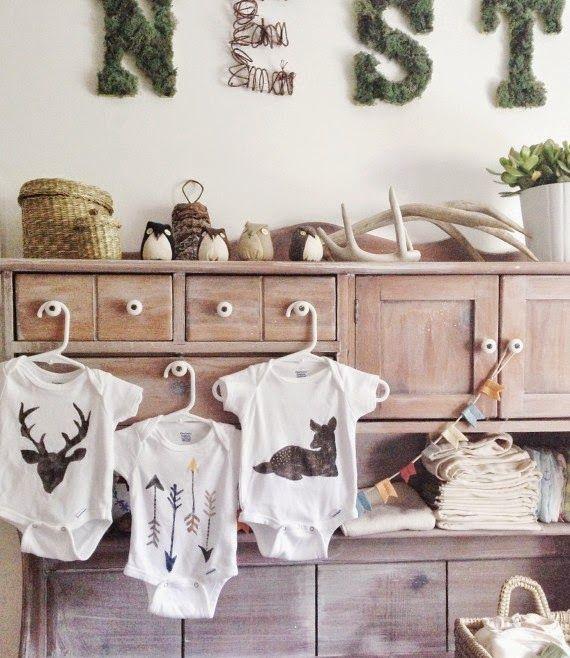 Naifandtastic:Decoración, craft, hecho a mano, restauracion muebles, casas pequeñas, boda: DIY: Sellos para estampar en básicos de bebe
