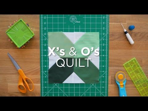 X's and O's - Quilt Snips Mini Tutorial