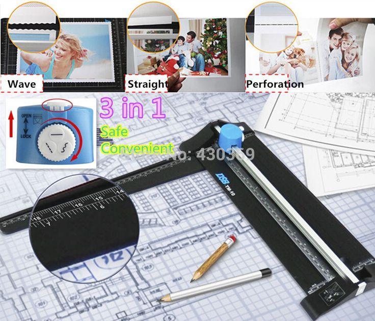 3 in 1 Trimmer Cutter Cortador De Papel Dotted line Wavy line Paper Cutter Photo Cutter DIY Craft Supplies Paper Cut Machine