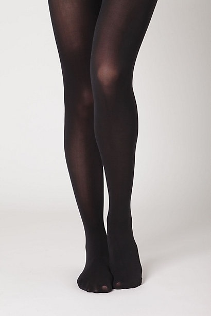 Opaque Tights, Black - StyleSays