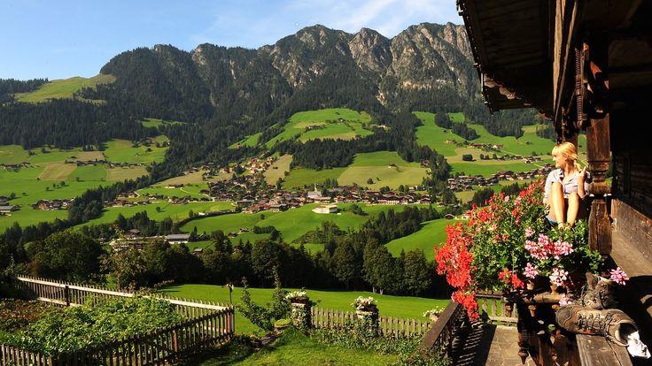 """TIROL - Alpbach """"Urlaub im Sommer im schönsten Dorf Österreichs"""" Alpbach..."""