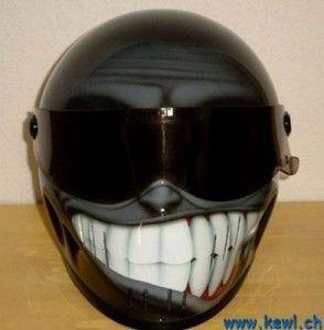 I gotta have this!!!!!!! Motorcycle Helmet Design | #ridesafe #protectyourpumpkin