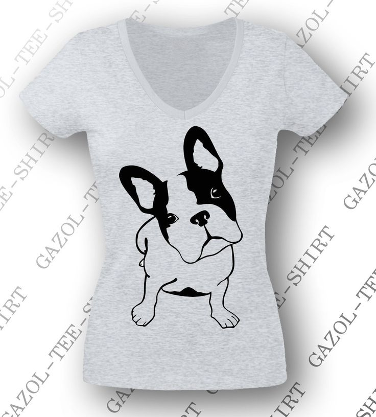 T-shirt femme fashion Bouledogue français. : T-Shirt, debardeurs par gazol-tee-shirt