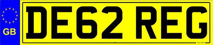 GB NUMBER PLATE (STD CAR REAR):Amazon.co.uk:Car & Motorbike