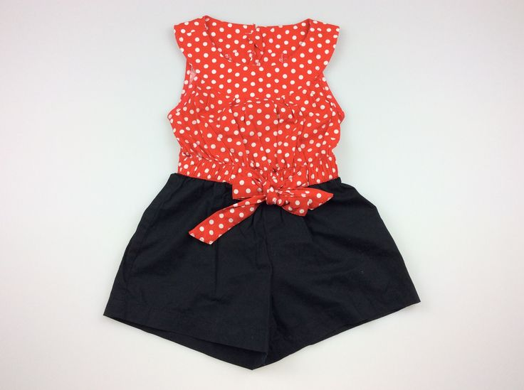 SOOKI BABY, cute cotton playsuit, size 2, pre-loved EUC. $18 at daisychainclothing.com.au #playsuit #jumpsuit #kidsfashion  #SookiBaby