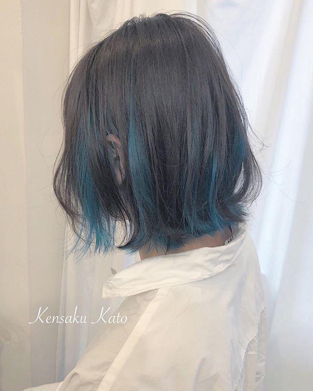 Kensaku Kato 美容師さんはinstagramを利用しています インナーハイ