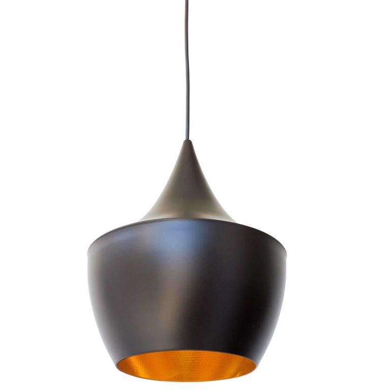 The Matt Blatt Replica Tom Dixon Beat Shade Fat Lamp by Tom Dixon - Matt Blatt
