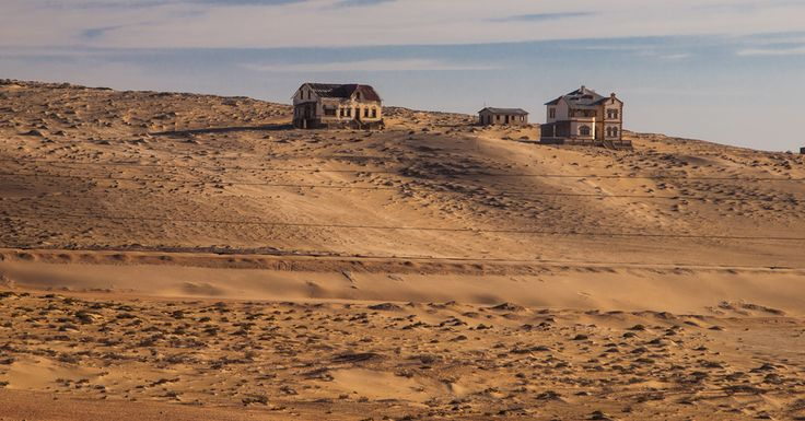 The ghost town, Namibia #namibia #luxurytravel