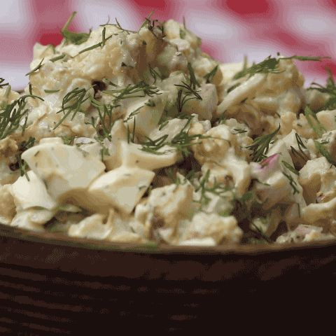 "Yummm! | This Cauliflower ""Potato"" Salad Is Low-Carb And Delicious"