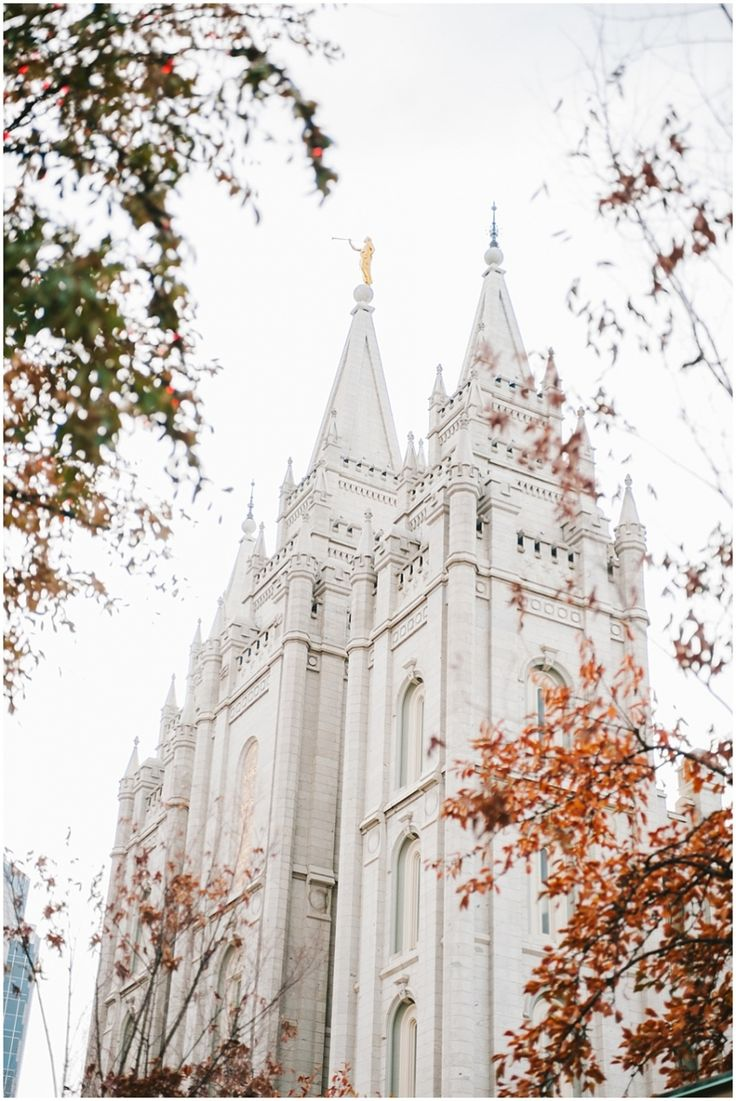 L.D.S. Salt Lake Temple, Salt Lake City, Utah