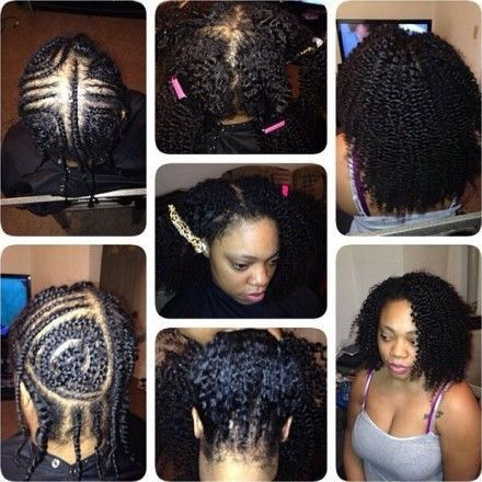 Peachy 17 Best Images About Hair On Pinterest Vixen Sew In Protective Short Hairstyles Gunalazisus