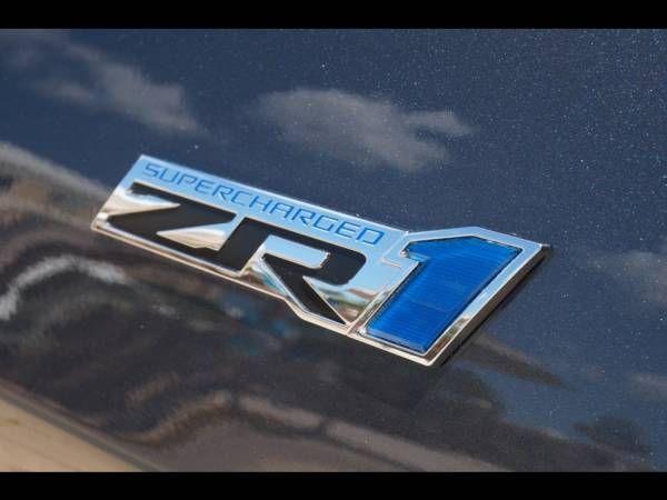 2009 Corvette ZR1 in Cyber Gray Metallic