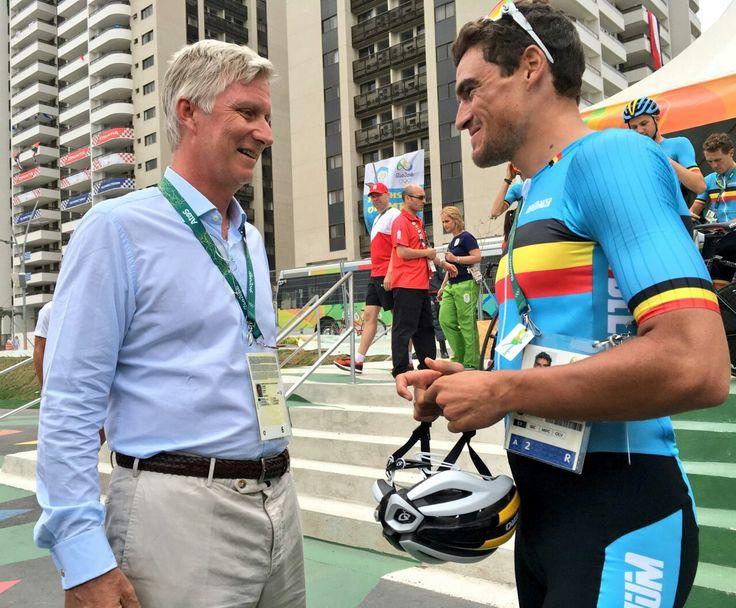 King Philippe of Belgium  Rio 2016