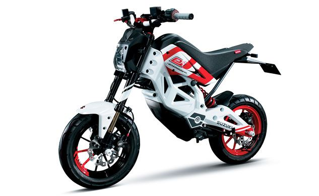 Introducing the Extrigger: Suzuki's Electric Answer to the Honda Grom - Motorcycle.com News