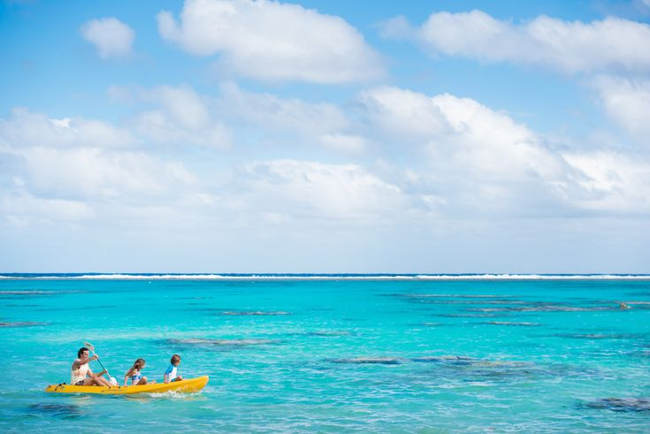 Fun and adventure for the whole family in our stunning turquoise lagoon!
