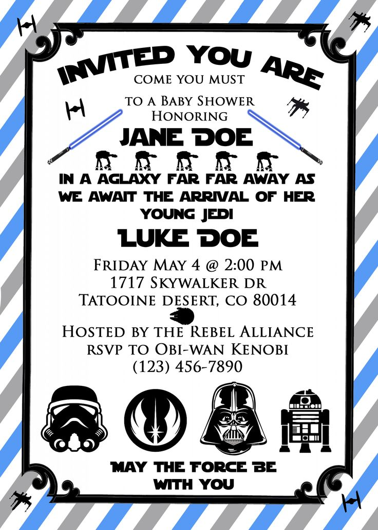 star wars invitations on pinterest star wars party birthday star