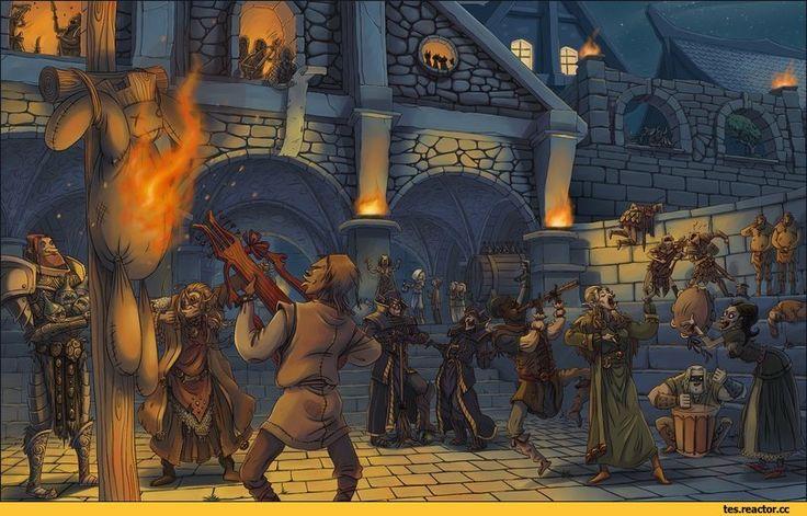 The Elder Scrolls,фэндомы,скайрим,Талмор,Довакин,TES Персонажи,гильдия бардов