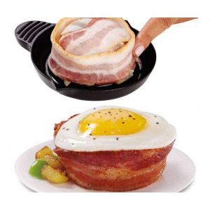 Twenty lucky winners will each receive a set of two Perfect Bacon™ Bowls. (Approx. retail value: $9.99