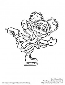 sesame street abby cadabby coloring pages | 13 best Sesame Street Coloring Pages images on Pinterest ...