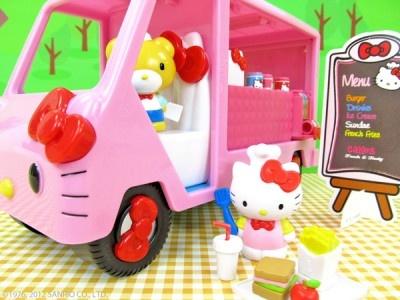 Beep Beep!Cream Shops, Cream Trucks, Hello Kitty Food, Hello Kitty Toys, Food Trucks, Ice Cream, Beep Beep, Helloooooooooo Kitty, Hellokitty