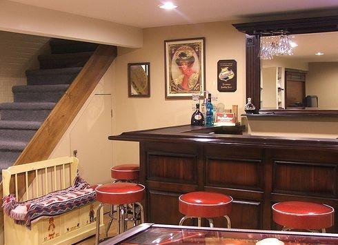 Small Basement Bar 9 best images about basement on pinterest | basement ideas