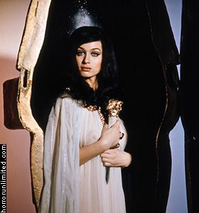 Blood From the Mummy's Tomb publicity still (1971) Valerie Leon