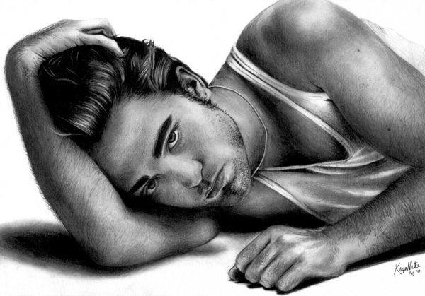 Robert Pattinson by ~knathe25 on deviantART