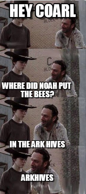 Arkhives - Humor Me - The Walking Dead Carl Memes