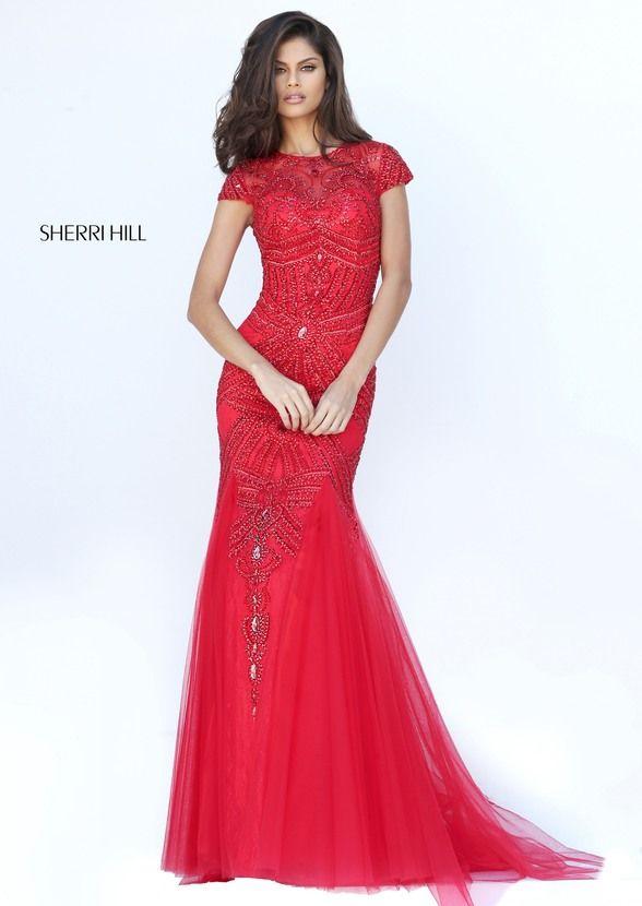 Red Mermaid Prom Dresses Sherri