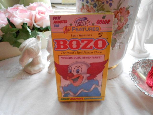 1992 Larry Harmon's Bozo The World's Most Famous Clown Sealed Video by Midwestgirl on Etsy https://www.etsy.com/listing/99121332/1992-larry-harmons-bozo-the-worlds-most