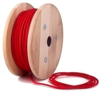 Kábel dvojžilový.Ku textilným káblom je potrebné dokúpiťobjímkuastropný držiak, po prípadedekoračné tienidlo, pokiaľ si to tak želáte.