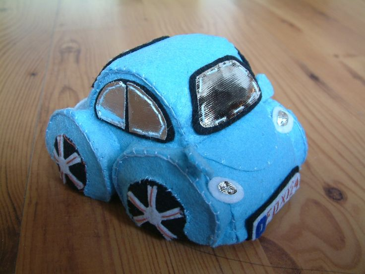 Felt VW Bug Beetle  ........................ by fairyfox | Etsy