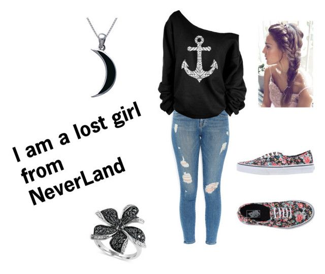 """""""song lost boy by ruth b"""" by madisoncalvertlovesonedirection ❤ liked on Polyvore featuring Frame Denim, Vans, Effy Jewelry and Carolina Glamour Collection"""