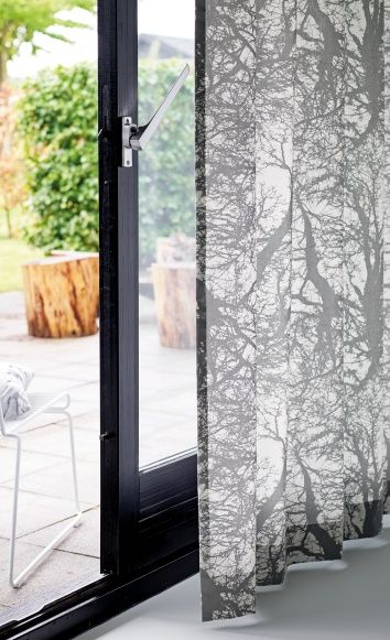 Woven white w grey branches - Perfect for a curtain!