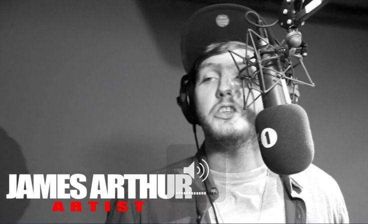 UK based X Factor winner, James Arthur, has randomly found himself in the BBC 1xtra studios with popular UK DJ Charlie Sloth, recording an e...