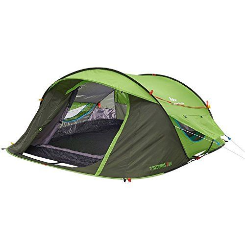 Quechua Waterproof Pop Up Camping Tent 2 Seconds EASY AIR III, 3 Man ** See this awesome product @ https://www.amazon.com/gp/product/B00XILHWTU/?tag=homeimprtip08-20&ptu=240716051525