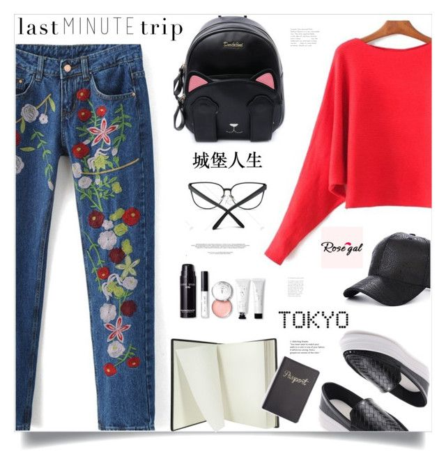 """""""Trip to Tokyo (coupon codes in description)"""" by arohii ❤ liked on Polyvore featuring Pineider, Bobbi Brown Cosmetics, ADZif, travel, casualoutfit and polyvorefashion"""