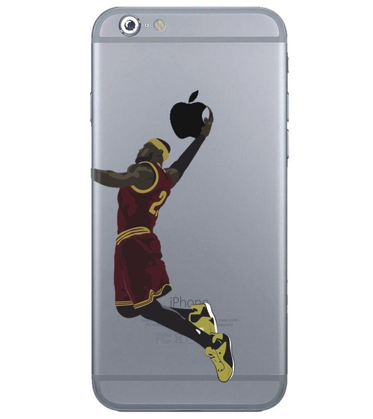 lebron dunking apple logo case. lebron james dunk iphone case dunking apple logo u