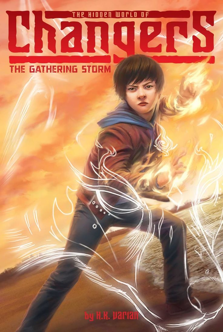 Elementary  Varian, Hk The Gathering Storm (the Hidden World Of  Changers) ,
