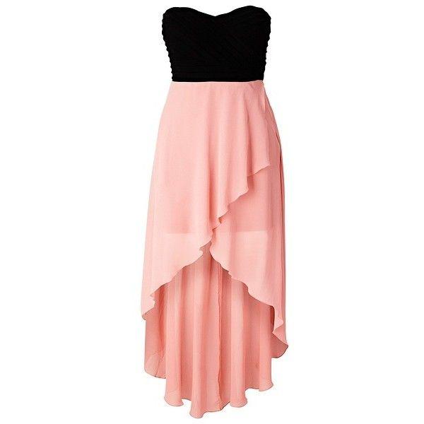 Платье (230 BRL) ❤ liked on Polyvore featuring dresses, vestidos, robe, short dresses, pink mini dress, short pink dress, rainbow dress and pink cocktail dress