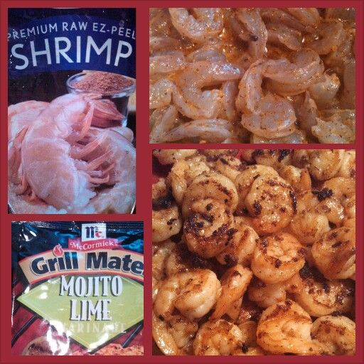 This is a great dinner starter! Use all the ingredients you see in the picture to get started! You can saute' the shrimp in olive oil (I used Bertolli extra light) in a skillet, but you can use an George Foreman grill lightly sprayed with Pam original cooking spray (make sure its made with canola oil) to have a grilled taste!  Kisses, Anaya