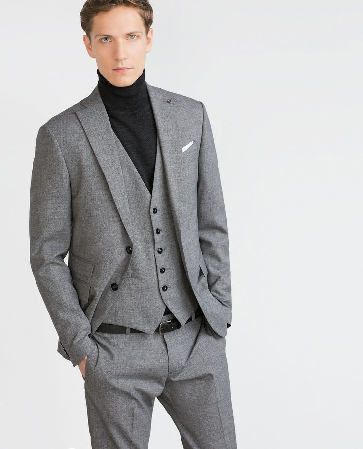 Image 1 of MOULINE WOOL SUIT SET from Zara