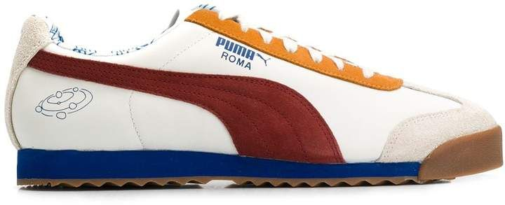 x Tyakasha Roma sneakers   Sneakers, White leather, Leather
