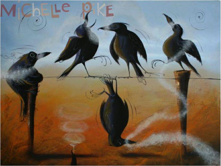 Stone The Crows - Michelle Pike Australian Artist